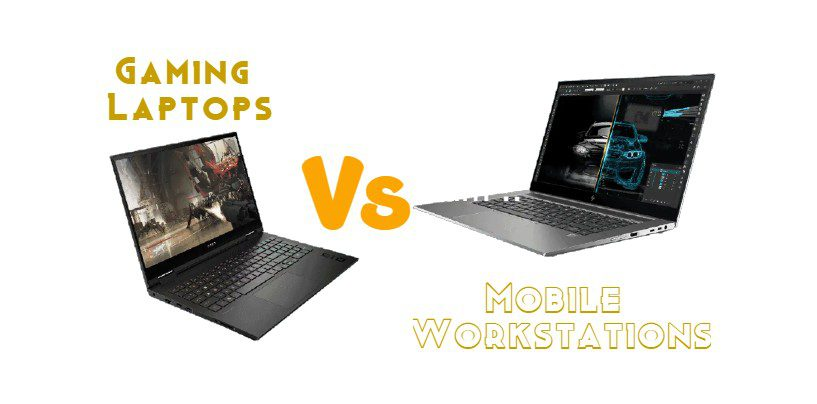 Gaming Laptops vs Mobile Workstations: Differences You Must Know